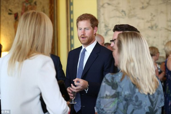 Prince Harry - 40th Anniversary Of The children's Charity WellChild
