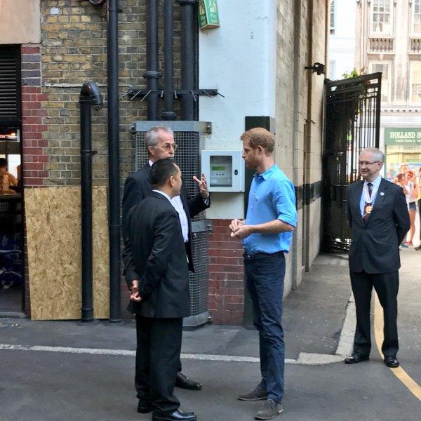 Prince Harry - @boroughmarket , le 15 juin 2017