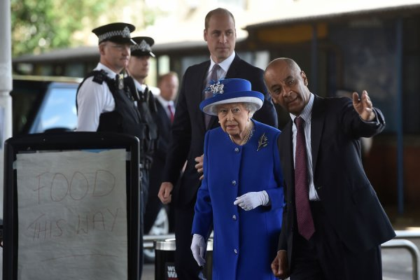Prince William - Grenfell Tower, le 16 Juin 2017