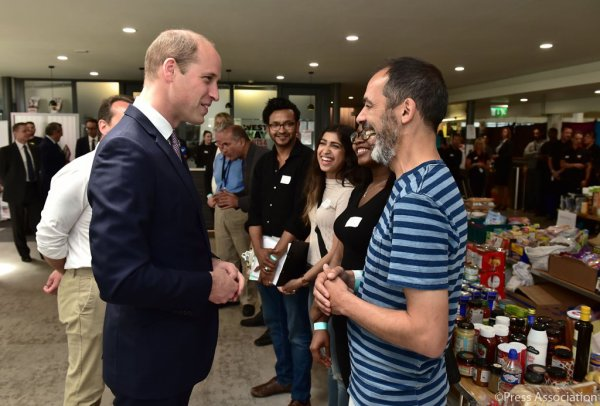 Prince William - Grenfell Tower, le 16 Juin 2017 _ Suite