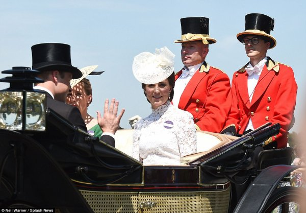William & Catherine - Royal Ascot 2017, le 20 Juin 2017 _ Suite