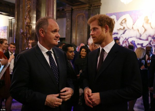 Prince Harry - the Queen's Young Leaders Awards 2017 , le 29 Juin 2017 _ Suite
