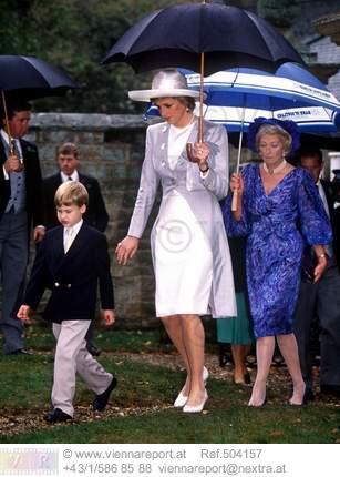 Charles Spencer Viscount Althorp & Victoria Lockwood Wedding , le 16 septembre 1989  _ Suite