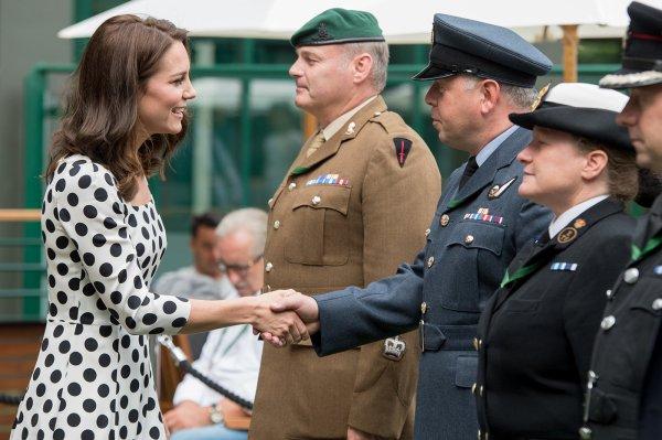 Duchess Catherine - Wimbledon , le 03 Juillet  2017