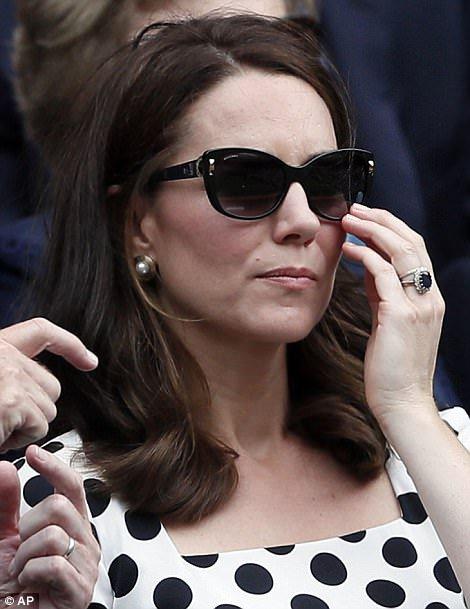 Duchess Catherine - Wimbledon , le 03 Juillet  2017 _ Suite