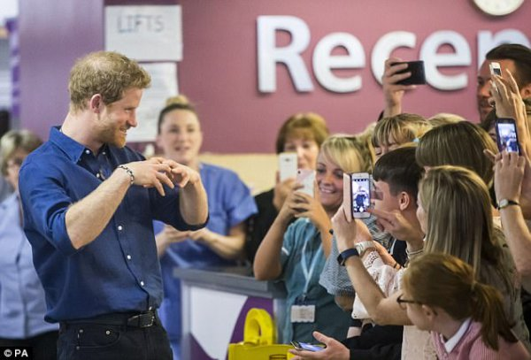 Prince Harry - Leeds  Day 2 , le 07 juillet 2017