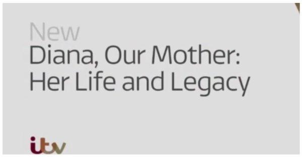 Documentaire « Diana, notre mère. Sa vie et son héritage »