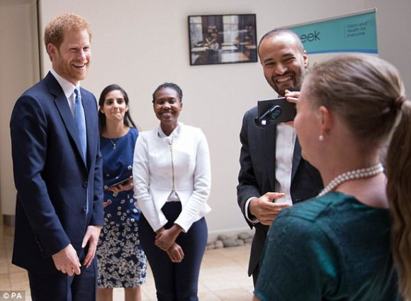 Prince Harry - The London School Of Tropical Medicine , le 10 Juillet 2017