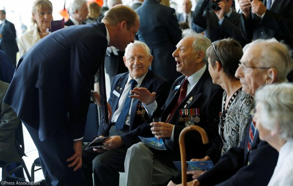 Prince William -The 60th Anniversary Of The Battle Of Britain Memorial Flight , le 11 juillet 2017 _ Suite