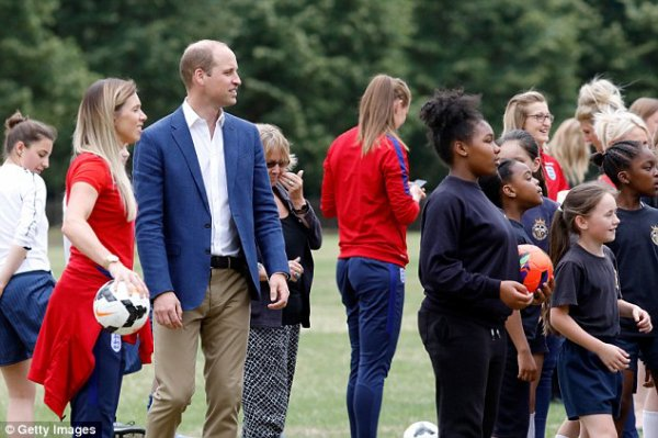 William - Catherine - Harry , le 13 Juillet 2017 _ Suite