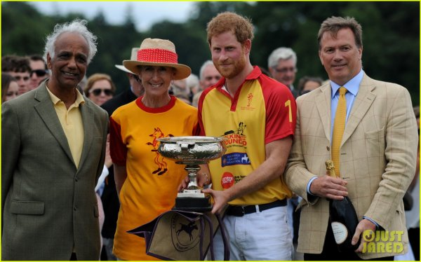 William et Harry - the Jerudong Park Trophy 2017 _ Suite