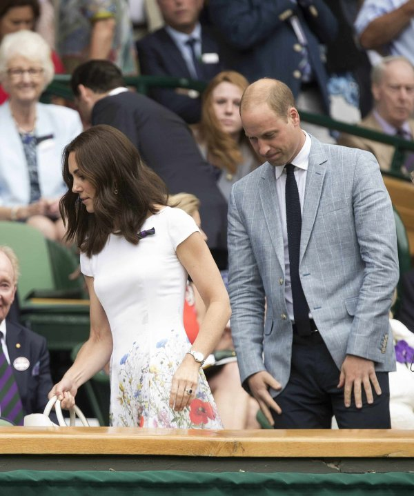 William & Catherine - Wimbledon 2017 , le 16 Juillet 2017 _ Suite