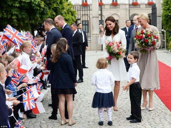 William & Catherine - Poland & Germany Tour , le 17 juillet 2017 _ Suite