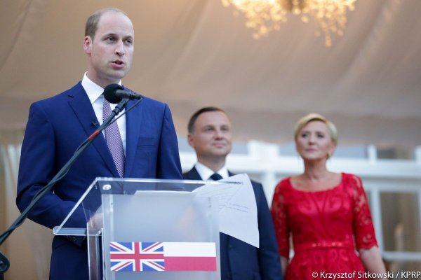 William & Catherine - Poland & Germany Tour , le 17 juillet 2017 _ Suite