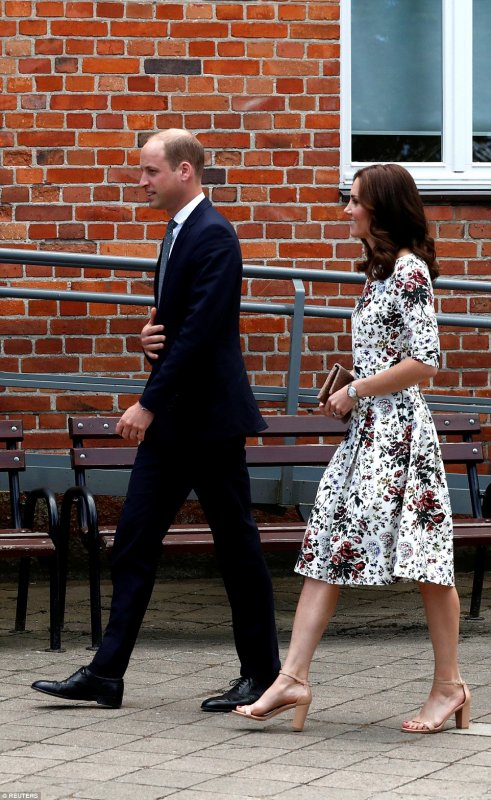 William & Catherine - Poland & Germany Tour , le 18 juillet 2017