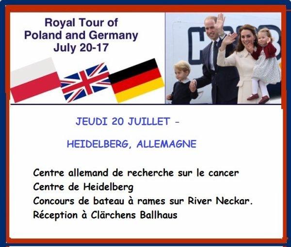 William & Catherine - Poland & Germany Tour , le 20 juillet 2017