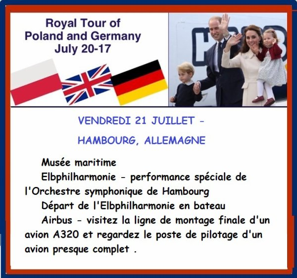 William & Catherine - Poland & Germany Tour , le 21 juillet 2017