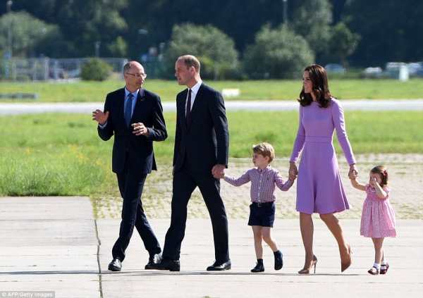 William & Catherine - Poland & Germany Tour , le 21 juillet 2017 _ Suite