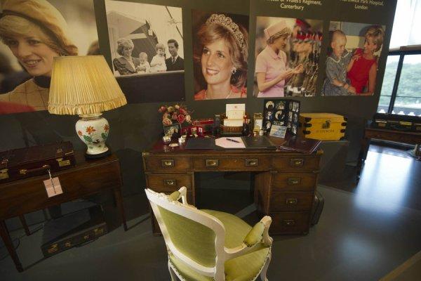 Exposition Buckingham Hommage Princess Diana