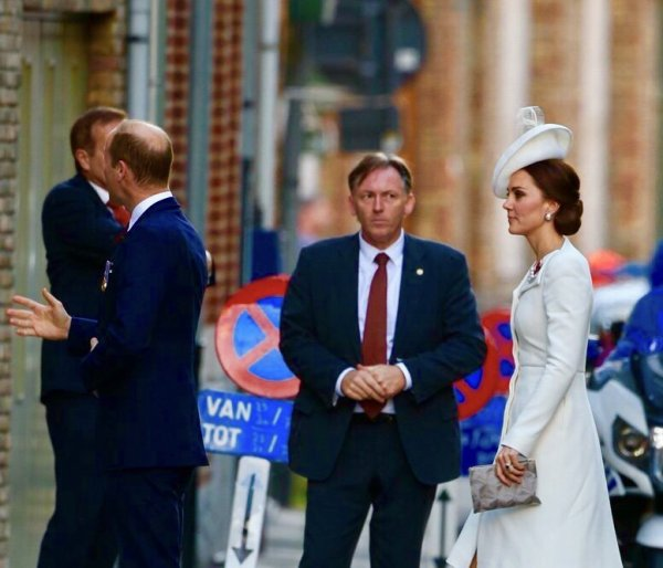 William & Catherine - Belgium , le 30 juillet 2017