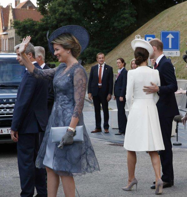 William & Catherine - Belgium , le 30 juillet 2017 _ Suite
