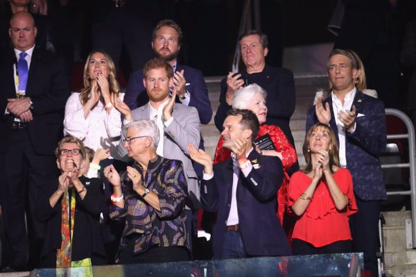 Prince Harry - The Closing Ceremony Of The Invictus Games 2017 , le 30 Septembre 2017_ Suite