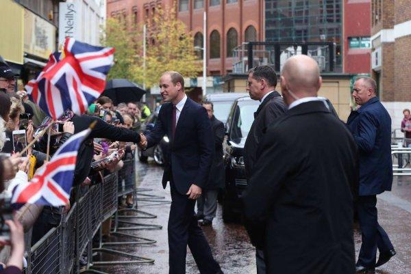 Prince William - Belfast , le 04 Octobre 2017 _ Suite