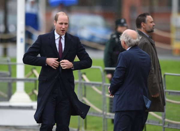 Prince William - Belfast , le 04 Octobre 2017 _ Suite