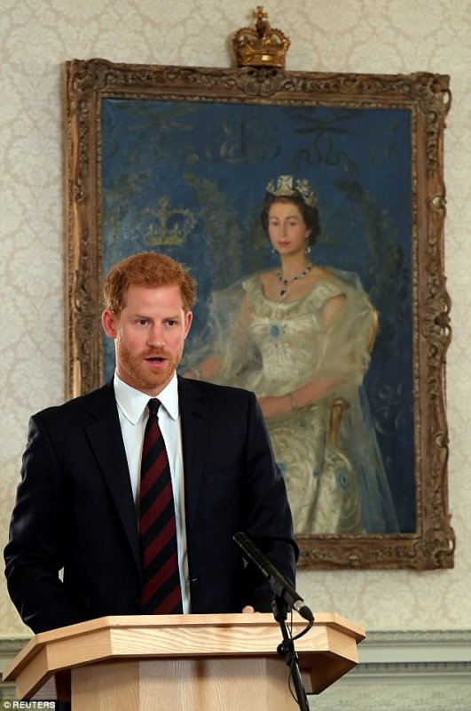 Prince Harry , le 09 Octobre 2017
