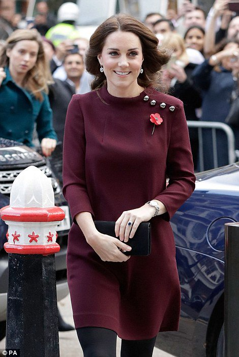 Duchess Catherine - Place2Be School Leaders Forum, le 08 November 2017