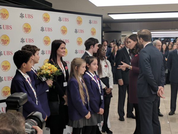 Duchess Catherine - Place2Be School Leaders Forum, le 08 November 2017 _ Suite