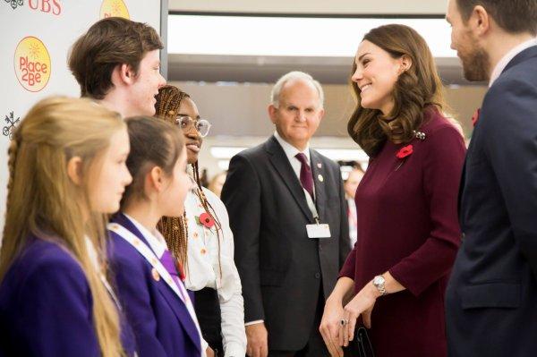 Duchess Catherine - Place2Be School Leaders Forum, le 08 November 2017 _ Suite