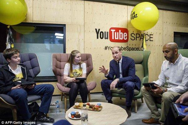 Prince William - Google & YouTube , le 16 Novembre 2017 _ Suite