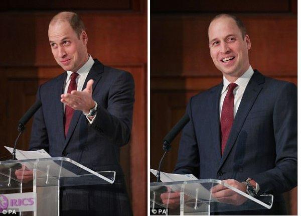 Prince William - the RICS & LandAid Pledge150 Campaign , le 17 Novembre 2017