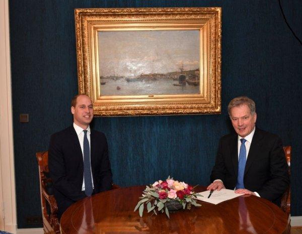Prince William - Finland , le 29 novembre 2017 _ Suite