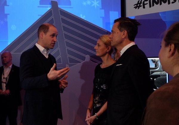 Prince William - Finland , le 30 novembre 2017 _ Suite