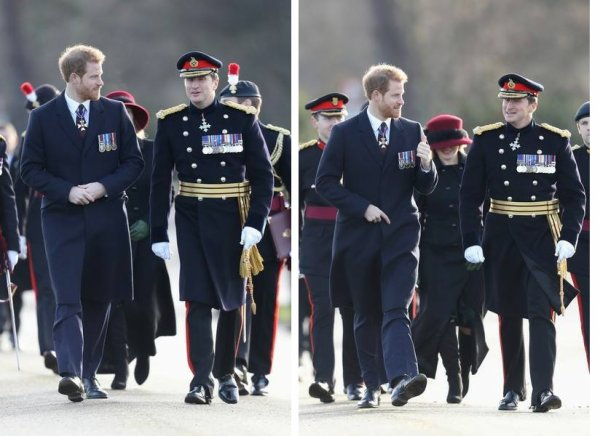 Prince Harry - The Sovereign's Parade Royal Military , le 15 décembre 2017