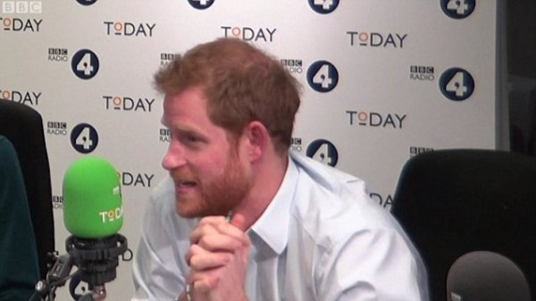 Harry - Guest-Editor of the Today Programme On Radio 4 , le 27 décembre 2017