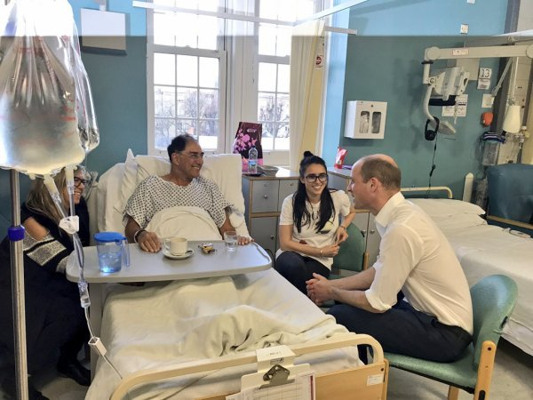 Prince William - The Royal Marsden Hospital , le 10 Janvier 2018 _ Suite