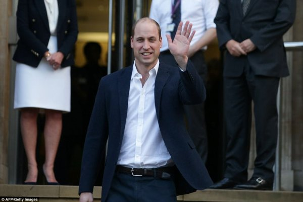Prince William , le 10 Janvier 2018