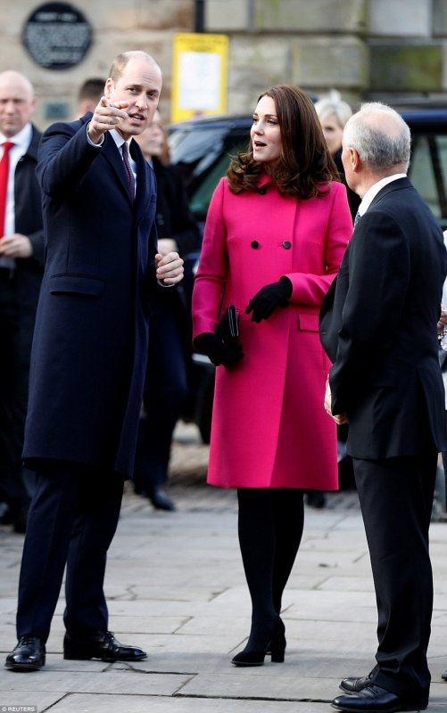 William & Catherine - Coventry, le 16 Janvier 2018 _ Suite