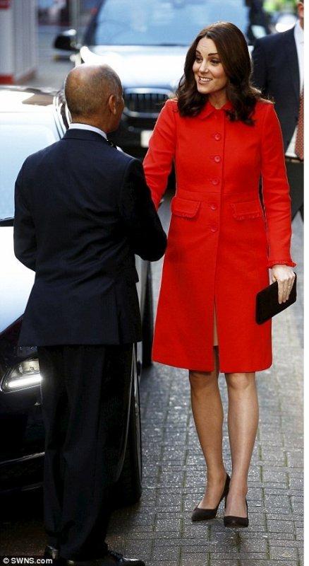 Duchess Catherine - Great Ormond Street Hospital , le 17 Janvier 2018