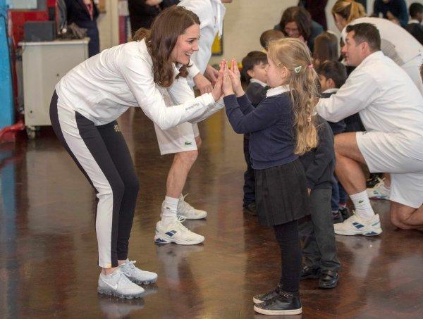 Duchess Catherine - The Wimbledon Junior Tennis Initiative , le 17 Janvier 2018 _ Suite