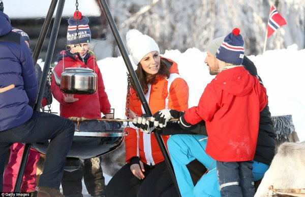 William & Catherine - Sweden and Norway Day 2 , le 02 février 2018 _ Suite