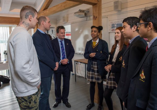 Prince William , le 08 Février 2018