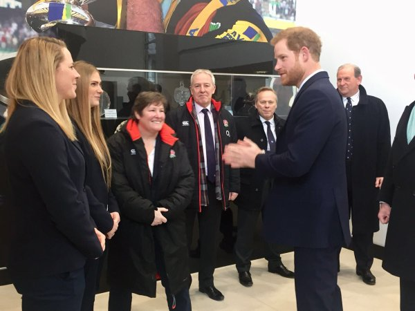 Prince Harry - the NatWest 6 Nations Match Twickenham Stadium ,le 10 Février 2018
