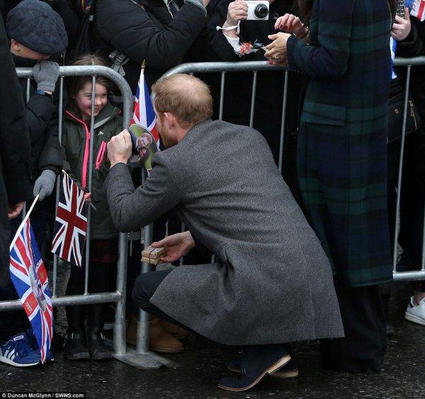 Prince Harry & Miss Meghan Markle - Edinburgh  , le 13 Février 2018