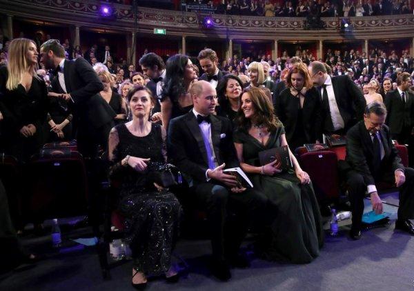 William & Catherine - BAFTA 2018 , le 18 Février 2018 _ Suite
