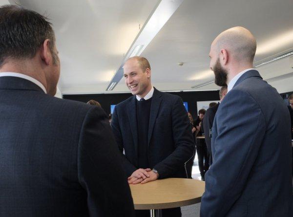 Prince William - Hinckley , le 20 Février 2018 _ Suite