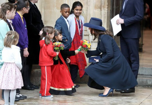 William & Catherine & Harry & Miss Meghan Markle - 2018 Commonwealth Day , le 12 Mars 2018 _ Suite